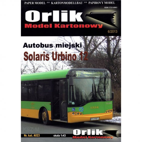 Orlik A023 - Autobus Solaris Urbino 12