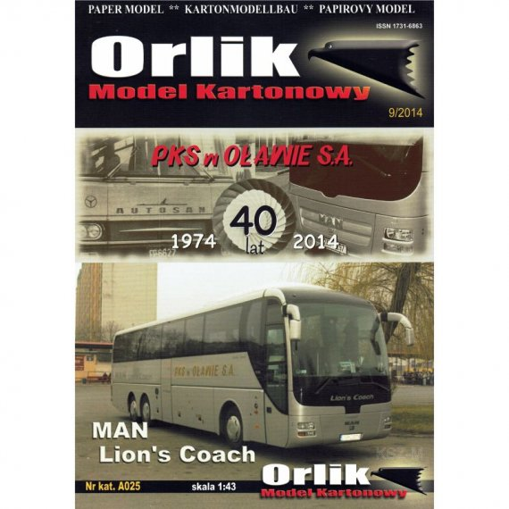 Orlik A025 - Man Lion's Coach