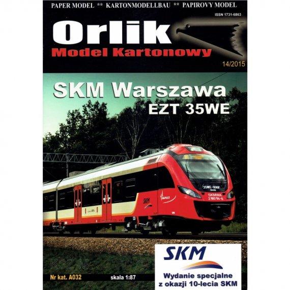 Orlik A032 - Pociąg SKM Warszawa EZT 35WE