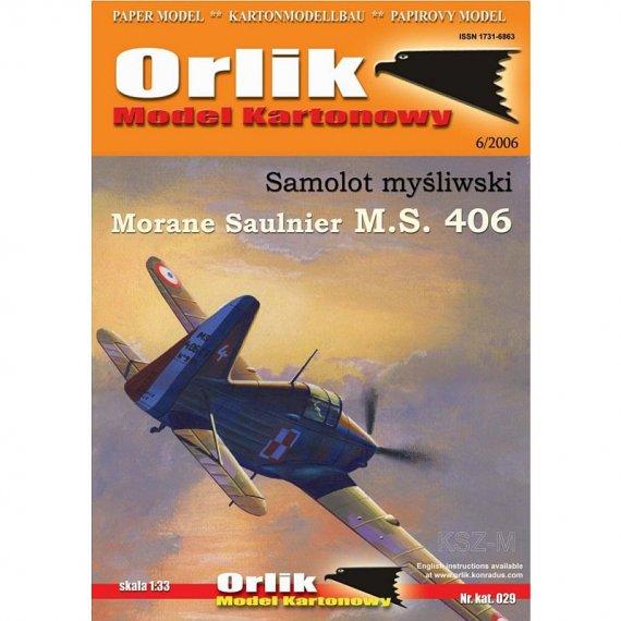 Orlik 029 - Samolot Morane Saulnier MS 406