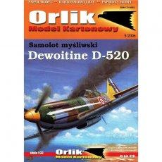 Orlik 028 - Samolot Dewoitine D 520
