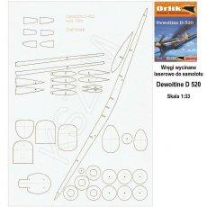 Laser do Orlik 028 Samolot Dewoitine D 520