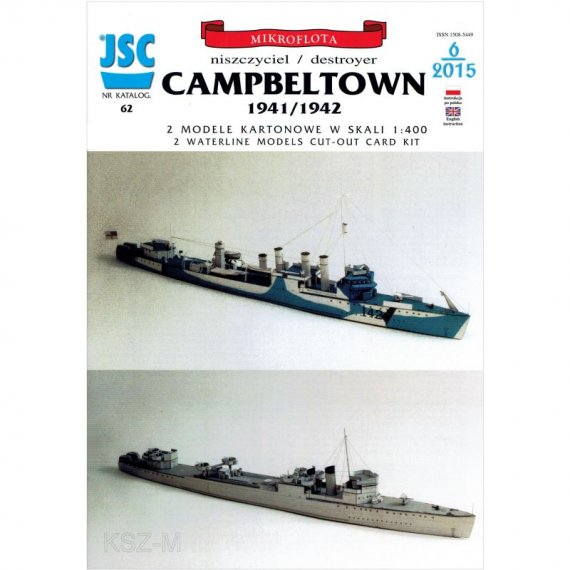 JSC-062 - Niszczyciel CAMPBELTOWN