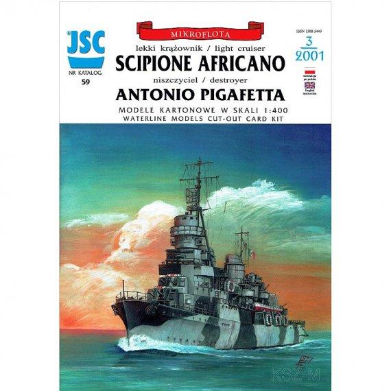 JSC-059 - Krążownik SCIPIONE AFRICANO