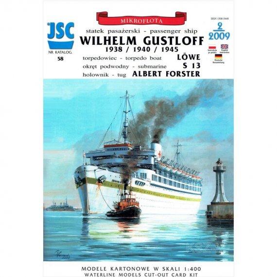JSC-058 Statek WILHELM GUSTLOFF