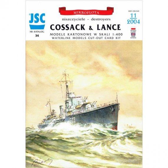 JSC-034 Niszczyciele COSSACK i LANCE