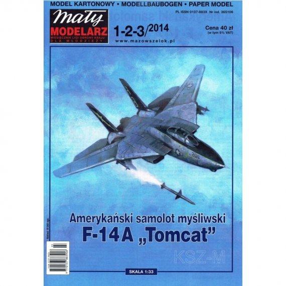 Mały Modelarz 1-3/14 - Samolot F-14A TOMCAT