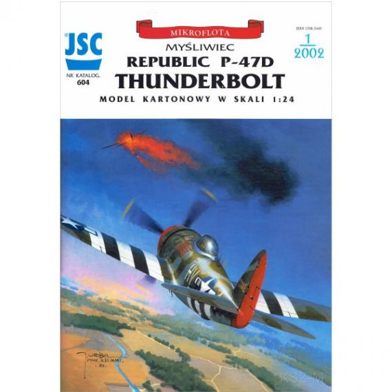 JSC-604 - Samolot myśliwski P-47D THUNDERBOLT