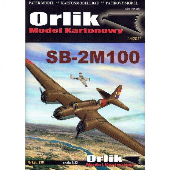 Orlik 130 - Bombowiec SB-2M100
