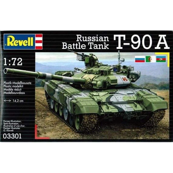 REVELL 03301 - Russian Battle Tank T-90A