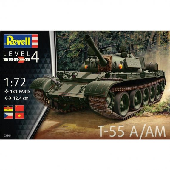 REVELL 03304 - T-55 A/AM 1/72