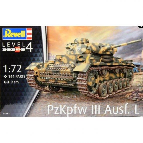 REVELL 03251- PzKpfw III Ausf.L 1/72