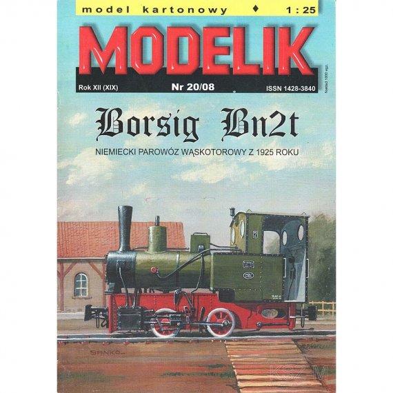 Modelik 20/08 Parowóz Bn2t BORSIG