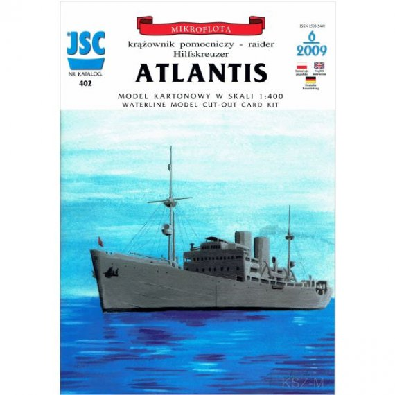 JSC-402 - Niemiecki krażownik ATLANTIS
