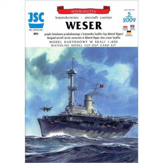 JSC-401 - Niemiecki lotniskowiec WESER