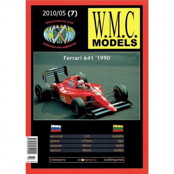 Bolid Ferrari 641 - WMC Models 07