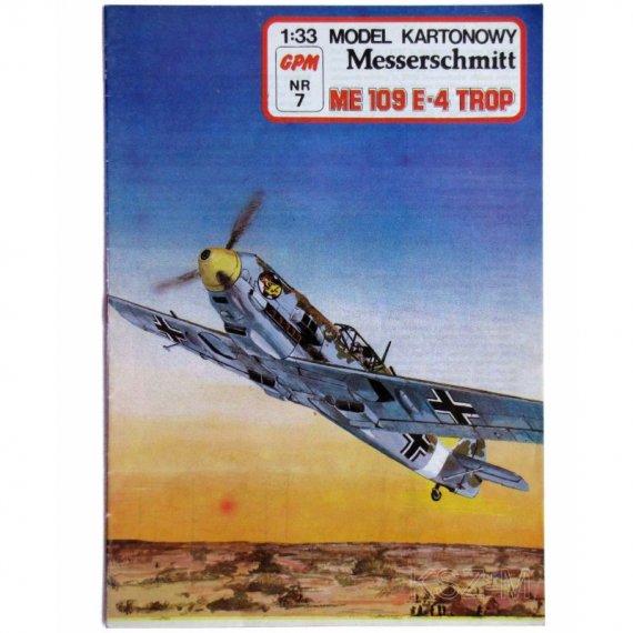 Me 109 E-4 Trop - GPM 7