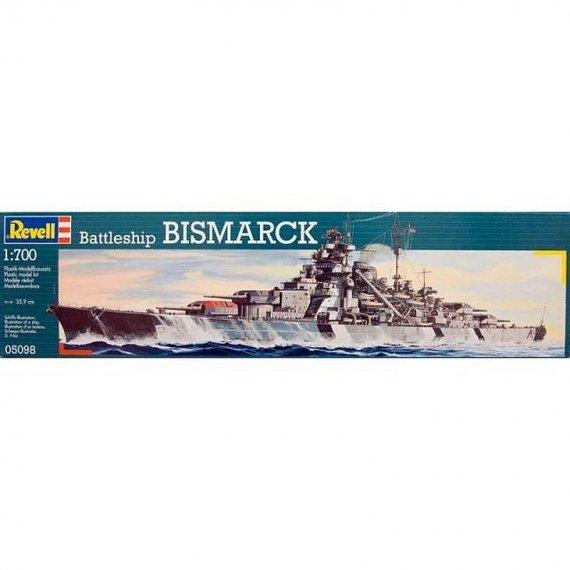 Pancernik Bismarck - REVELL 05098