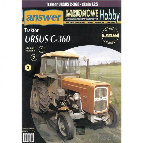 Answer 6/17 - Ciągnik URSUS C-360