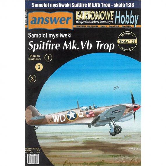 Answer 1/14 - Spitfire Mk.Vb trop