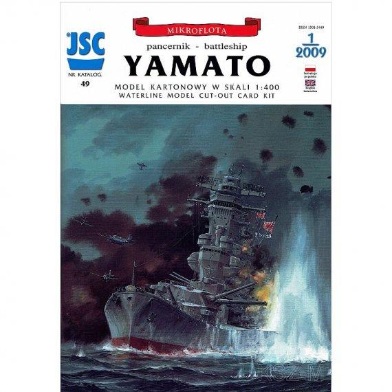 YAMATO japoński superpancernik - JSC-049