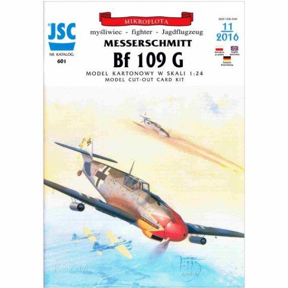 JSC-601- Samolot myśliwski Bf-109 G