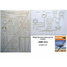 Laser do Orlik 039 Samolot Mitsubishi A6M3 Zero