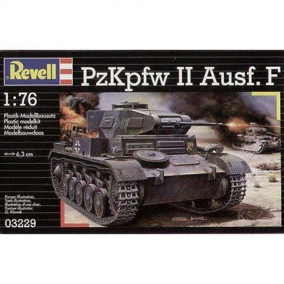 PzKpfw II Ausf.F - REVELL 03229