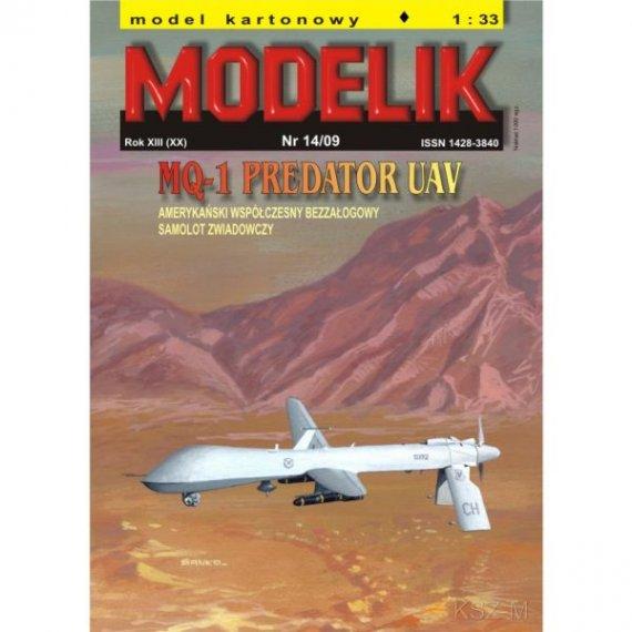 Modelik 14/09 - Samolot MQ-1 PREDATOR UAV