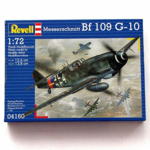 Messerschmitt BF 109 G-10 - REVELL 04160