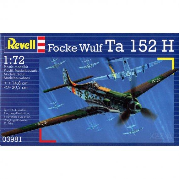 Focke Wulf Ta 152 H - REVELL 03981