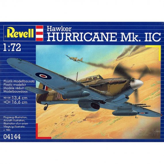 Hawker Hurricane MK. IIC - REVELL 04144