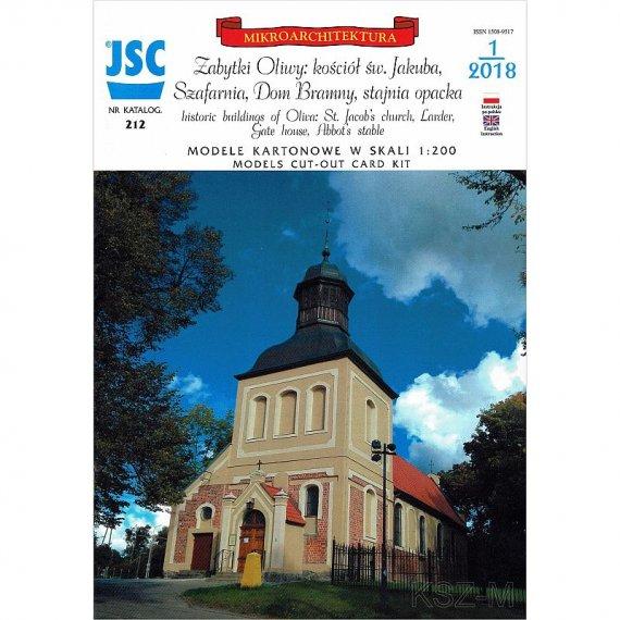 Gdańsk-Oliwa: Kościół św Jakuba, Szafarnia - JSC-212