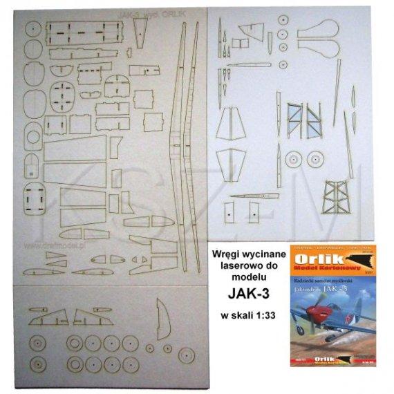 Laser do Orlik 042 Samolot myśliwski JAK-3