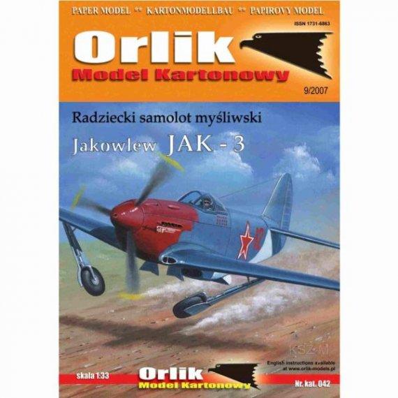 Orlik 042 Radziecki samolot myśliwski JAK-3