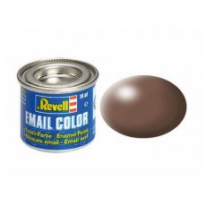 Farba email 381 Półmat Brown - REVELL 32381
