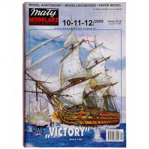 HMS Victory - Mały Modelarz 10-11-12/05
