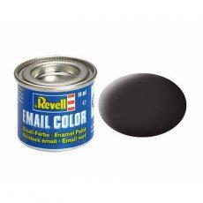 Farba email 06 Tar Black - Smolista Czerń - REVELL 32106
