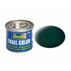 Farba email 40 Black Green - Czarno-Zielony - REVELL 32140