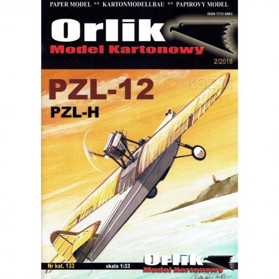 Wodnosamolot PZL-12 (PZL-H) - Orlik 133