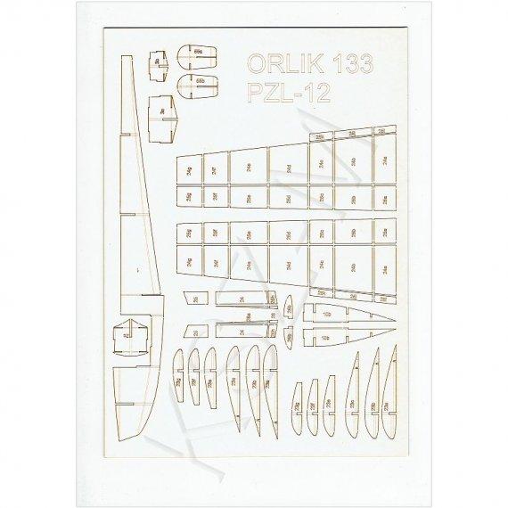 Szkielet do wodnosamolot PZL-12 (PZL-H) -  Orlik 133