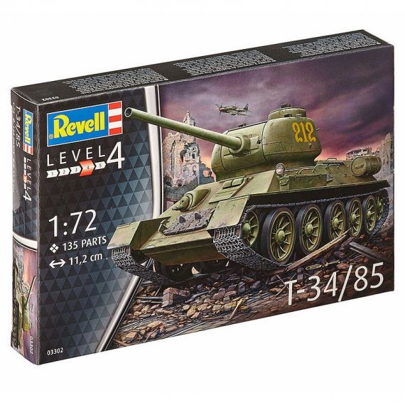 T-34/85 - REVELL 03302