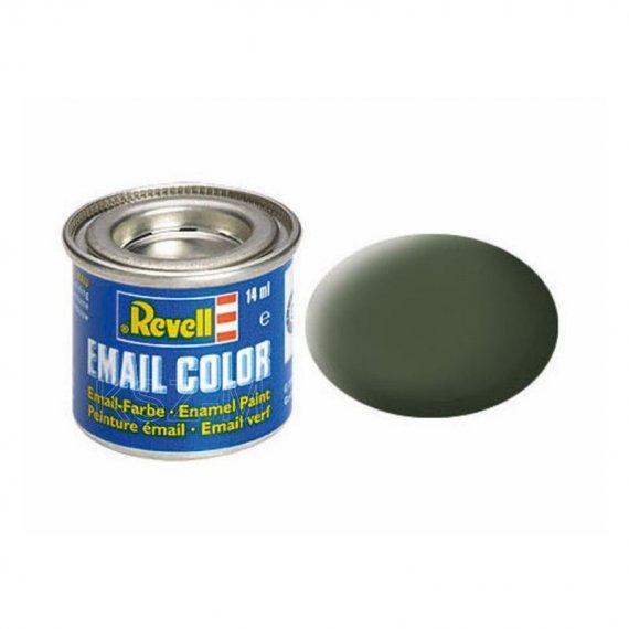 Farba email 65 Bronze Green Matt - REVELL 32165