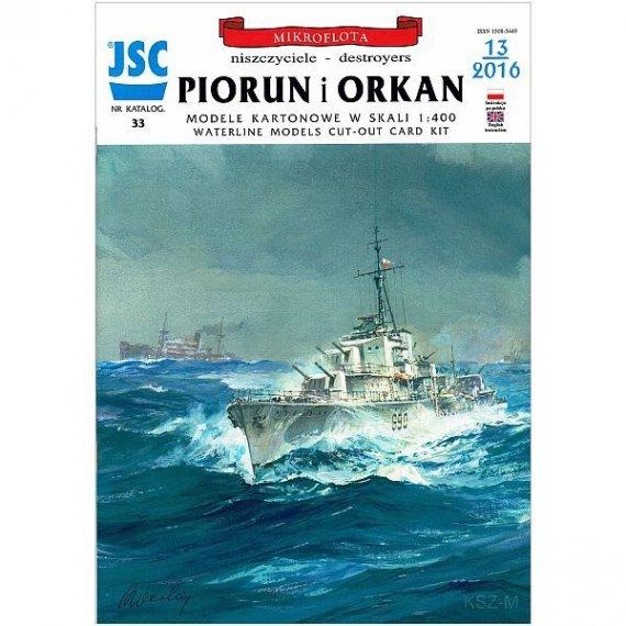 JSC-033 - Niszczyciele PIORUN i ORKAN