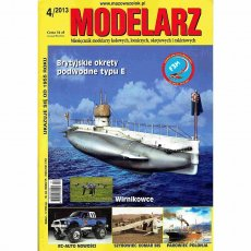 Modelarz 4/2013 - Titanic, RC PZL-104 Wilga