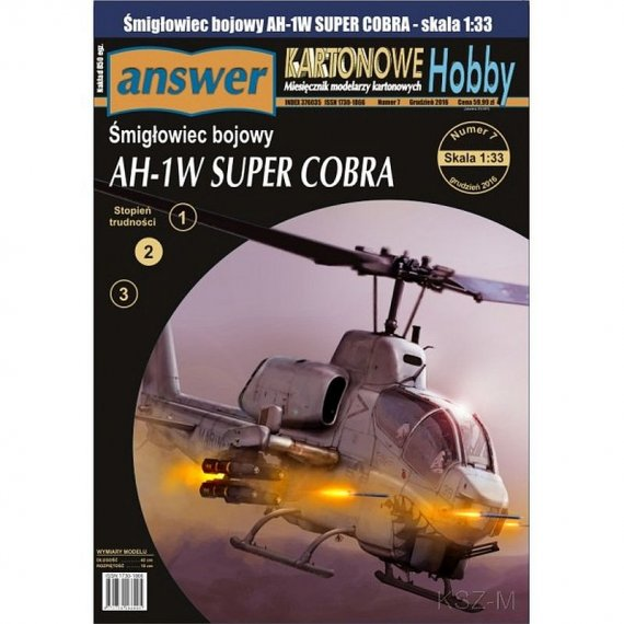 Bell AH-1W Super Cobra - Answer 7/16