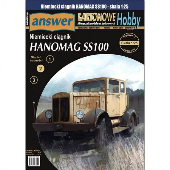 Hanomag SS100 - Answer 3/18
