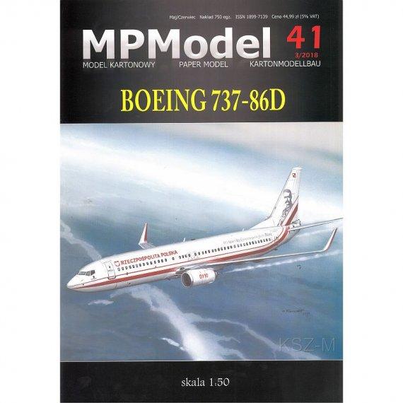Boeing 737-86D Józef Piłsudski - MPModel 41