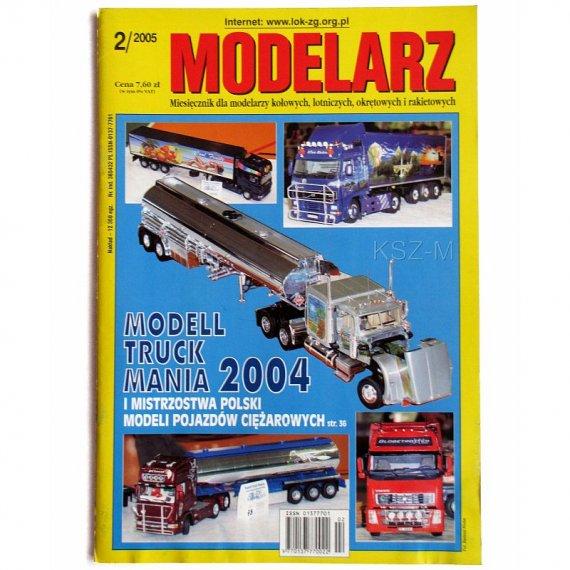 Modelarz 2/2005 - Pancernik Rodney, Piper Tomahawk