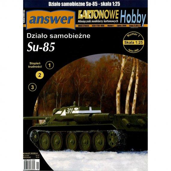 Działo samobieżne SU-85 - Answer 1/06